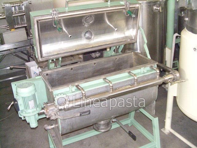 Kneader Mixer Dryer Fuser Stainless steel 150 liter