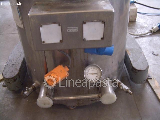 Planetary kneader mixer 100 liters