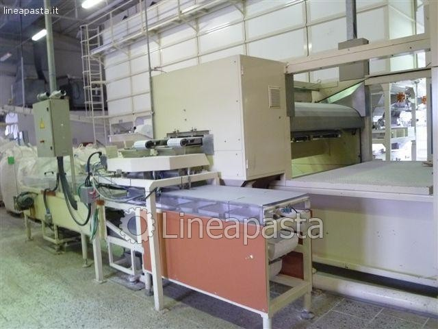 Spaghetti production line Pavan 1000 Kg/h