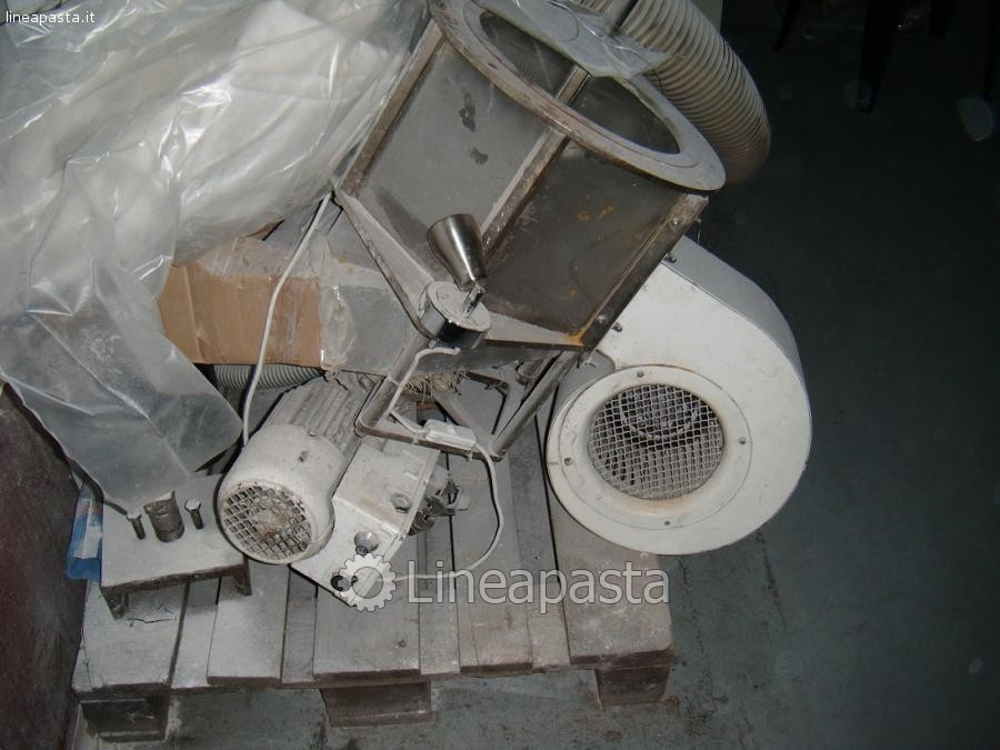 Dry pasta press 300 Kg/h La Monferrina K300