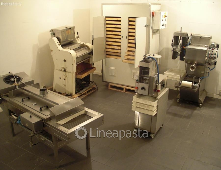 Machines set for fresh pasta production