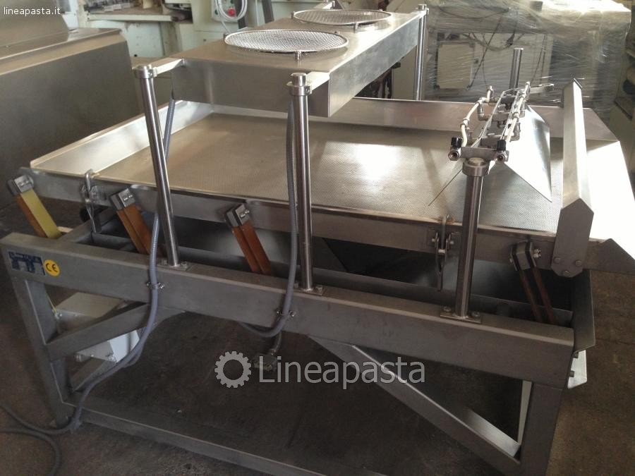 Cooking and cooling pasta line NILMA C150 - 30 Kg