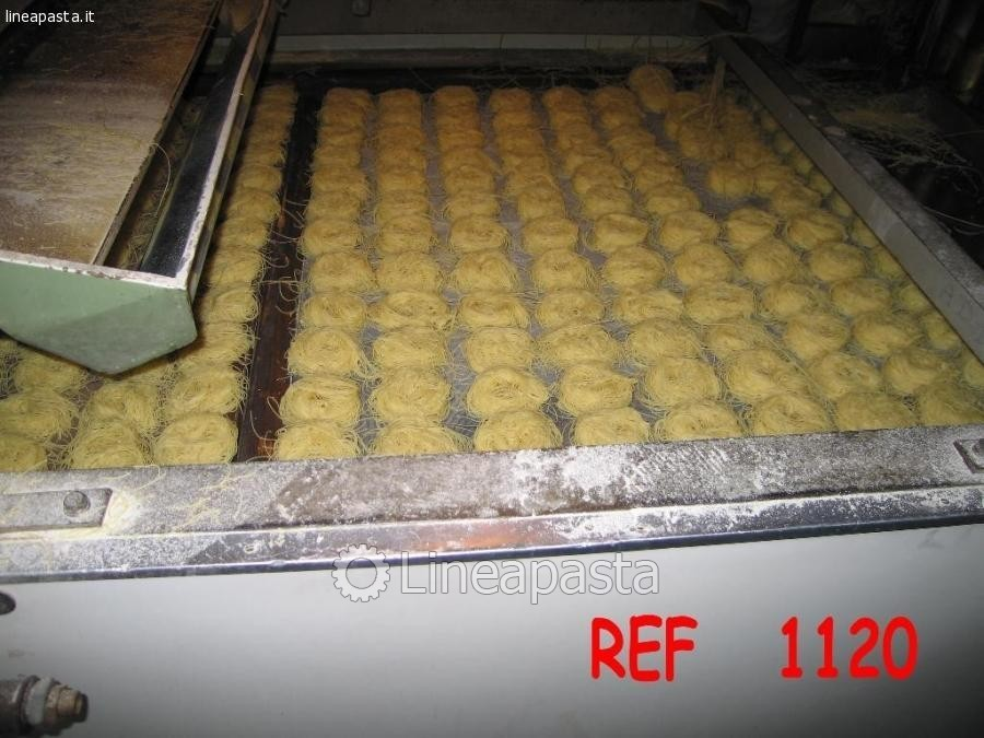 Nests and Farfalle Braibanti 300Kg/h