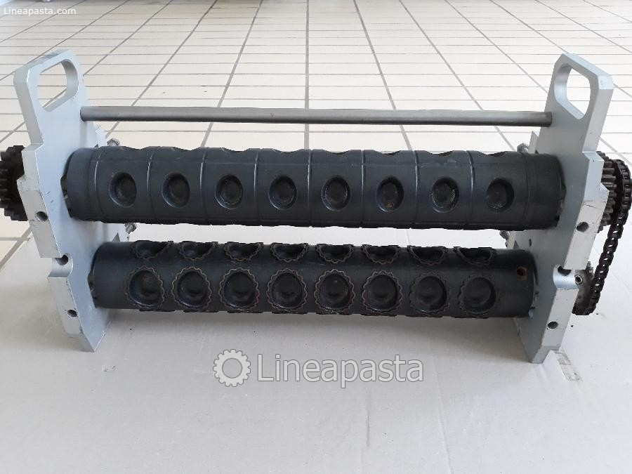 7 molds for double sheet ravioli machine Agnelli model A/540