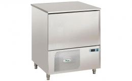Ventilated blast chiller 3/5 trays with manual defrosting