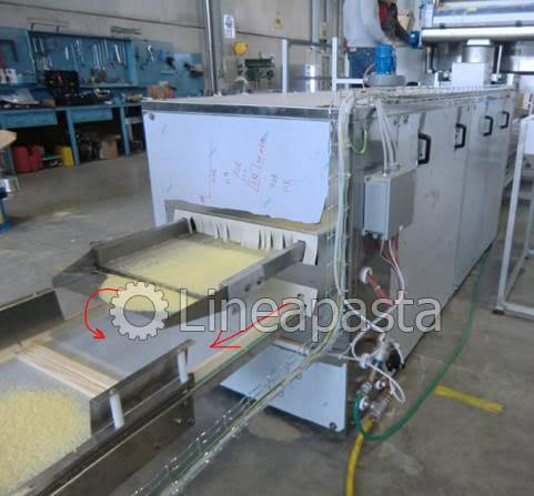 Complete drying equipment