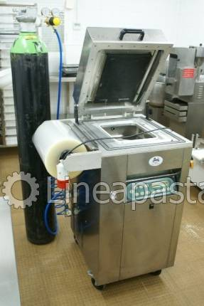 Bell vacuum machine with inert gas VG 800 - Lavezzini