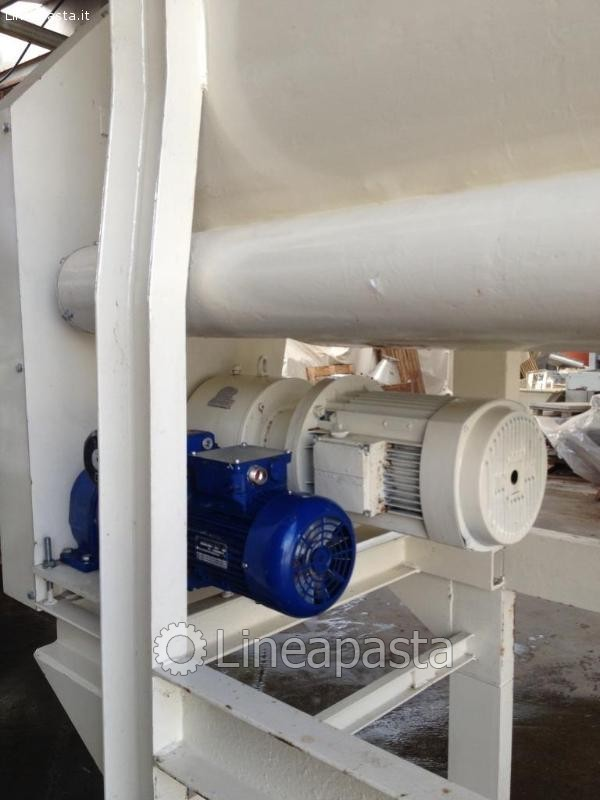 Horizontal paddle mixer for powder and paste 1500 l - Danioni