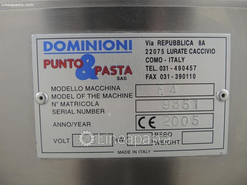 Gnocchi machine Dominioni F4