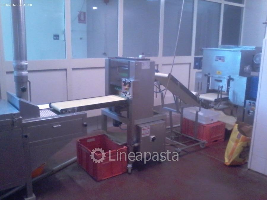Automated plant for pasta production