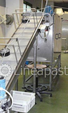 Complete set of machineries for pasta production