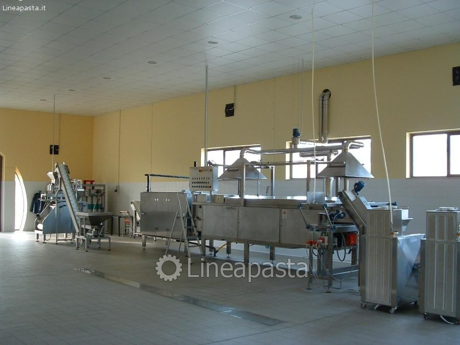 Complete fresh pasta production plant