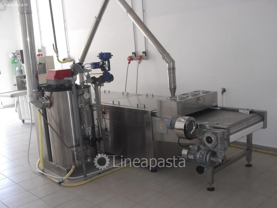 Plant for fresh pasta production