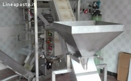 Complete packaging line with double doser weight