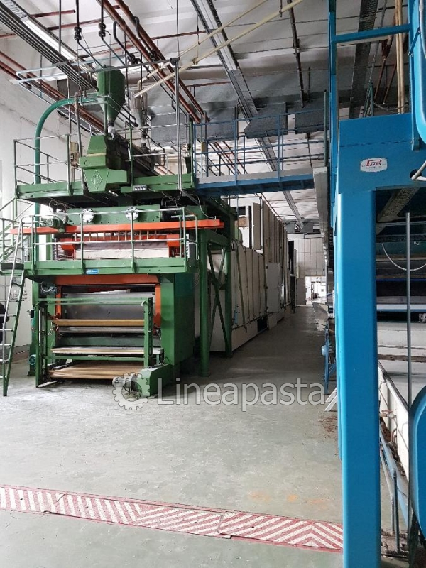 Long cut pasta line BRAIBANTI 650/700 kg/h