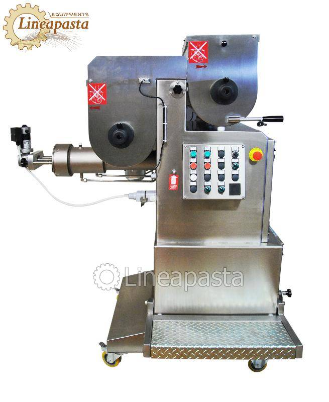 Fresh pasta maker with double vat MAC 100