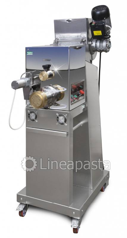 Professional fresh pasta maker with double vat MC300 DINAMIC - Vicentia