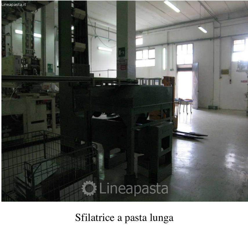 Long cut pasta line Braibanti 550 kg/h