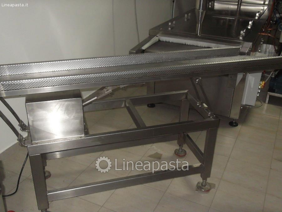 Vibrating belt for pasteurizer