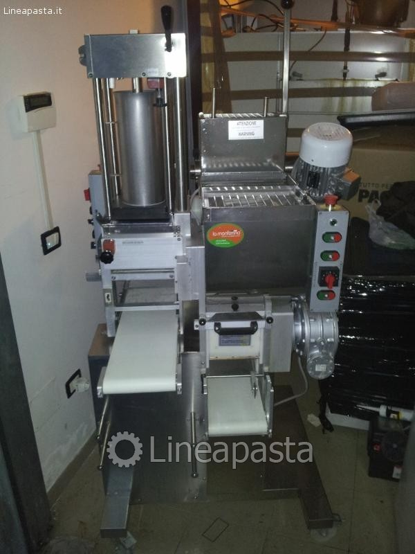 Mixer / extruder ravioli with double bowl and extruder - P2 Pleasure