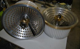 Short cut pasta dies 400mm + penne cutter